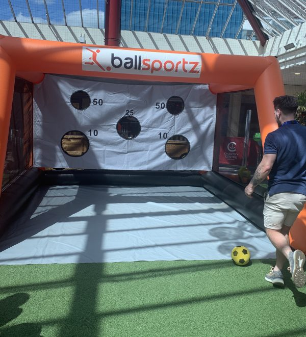 football target cage