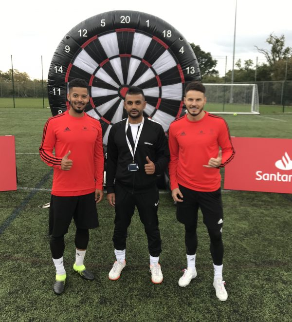 Hire Footdarts with F2 freestylers