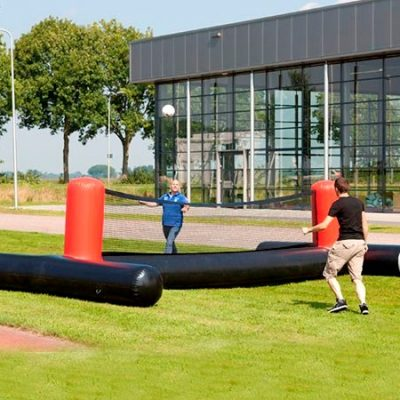 inflatable football tennis net