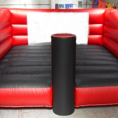 Inflatable rugby tackle pads