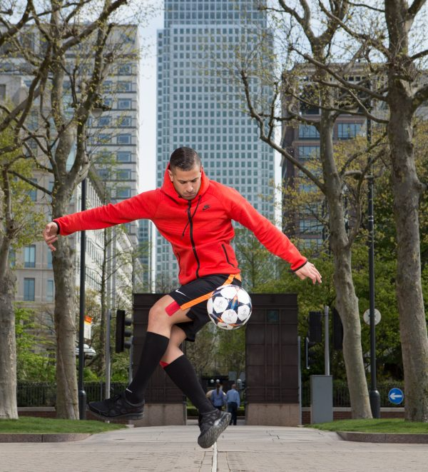 Football Freestyler Colin Nell